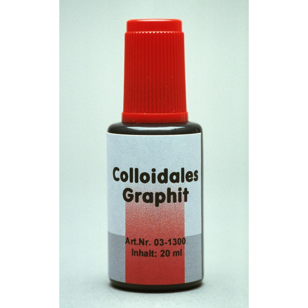 Colloidal Graphite Bottle with integrated brush, 20 ml